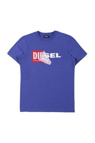 DIESEL TDIEGO 00J3ZN 00YI9 T SHIRT AND TANK Unisex Boys Bluette