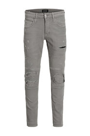Trousers GLENN AXX BIKER DARK GREY NOOS