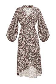 Blomster-trykt kjole