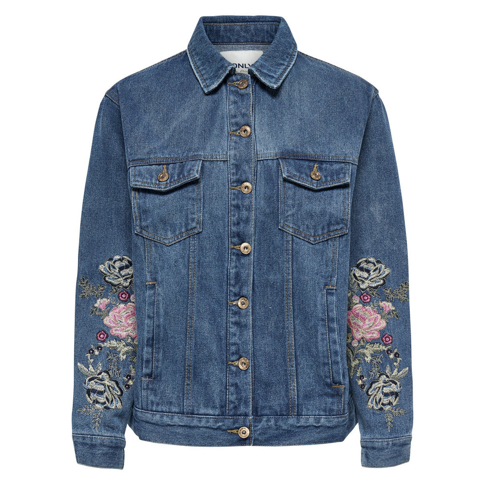 Denim jacket Embroidery