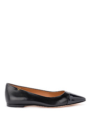 Penelope nappa flat shoes