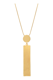 Necklace Theia Square Dot