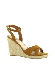 Sleehak espadrille sandalen