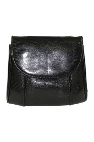 Lizard Leather Shoulder Bag