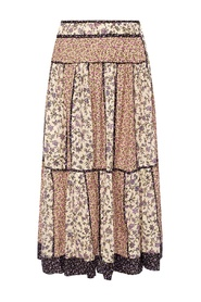 Josephine patterned skirt