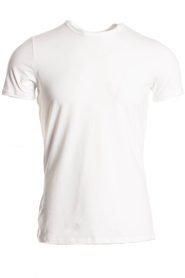 Hom T-Shirt O-Neck Stretch Wit