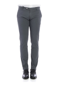 Trousers cotton SLIM TS0001X CHARCO