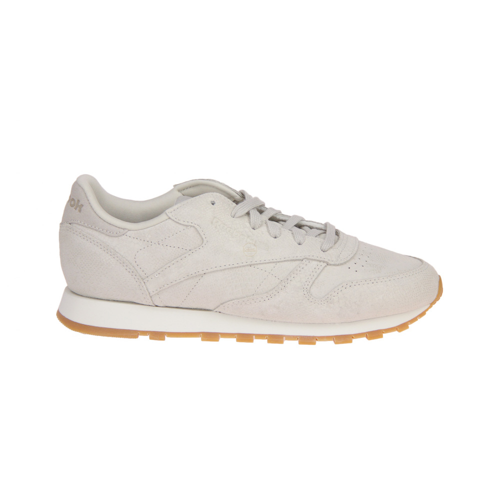 Reebok CL LTHR Taupe Sneaker