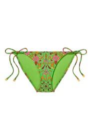 Printed String Bikini Bottom