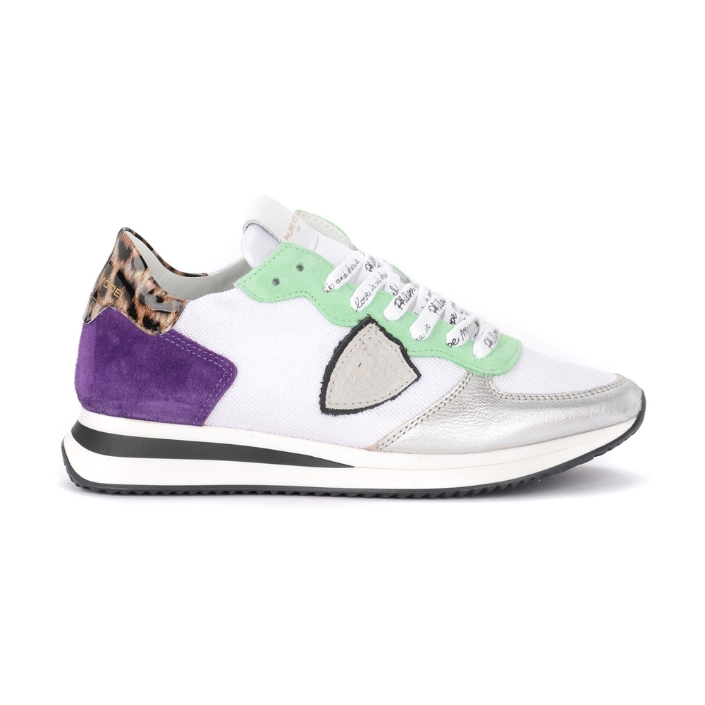 Tropez X sneaker with animal spoiler