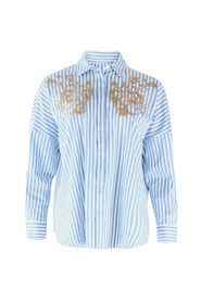 Striped Shirt with Applique