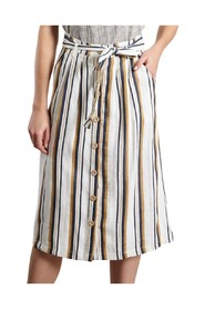 Joséphine Striped Skirt