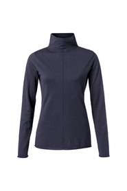 high neck sweater with seam at front