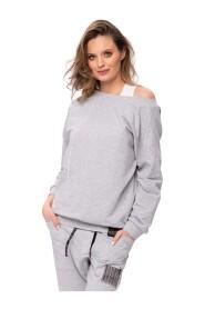 Bluza dresowa z nadrukiem Ada Look 112