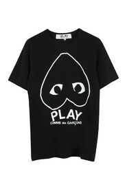 PLAY LOGO T-SHIRT BLACK