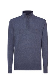 SWEATER OF LAMB WOOL WITH TROYER COLLAR