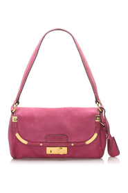 Suede Shoulder Bag Leather