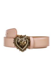women's genuine leather belt  cuore devotion