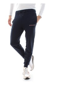 TOMMY SPORT S20S200070 JOGGER WITH FLAG PANTS LONGWEAR Men blue