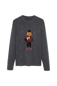 Christmas embroidered sweater