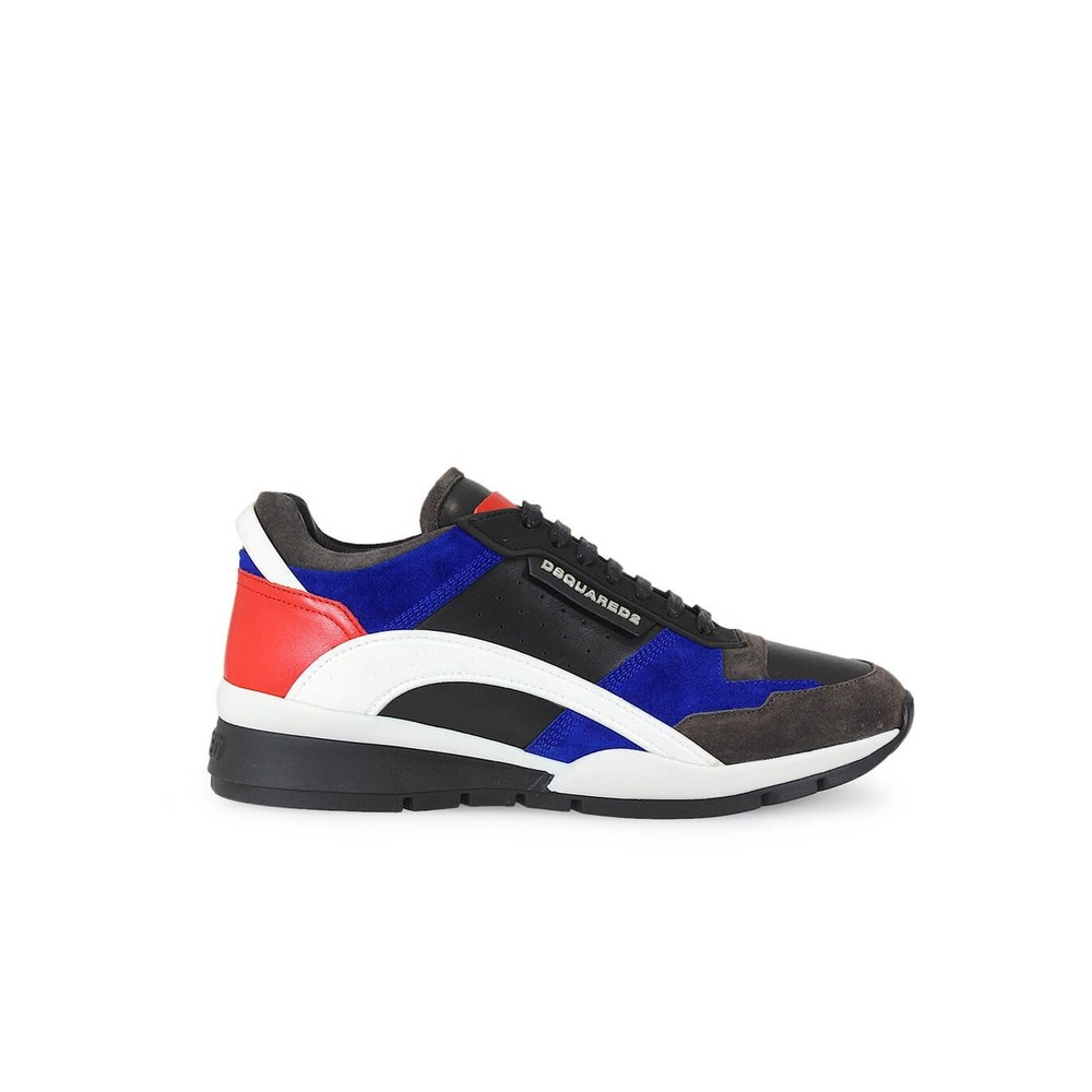KIT LEATHER AND SUEDE SNEAKERS