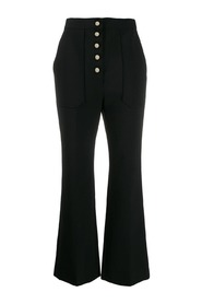 TROUSERS DOUBLEFACE WOOL TAILORING