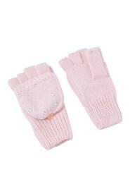 Sparkle Gem Capped Gloves