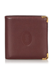 Leather Must De Cartier Wallet