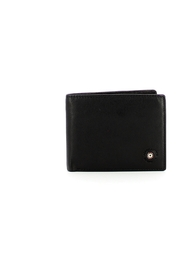 Leather wallet with ID and RFID holder