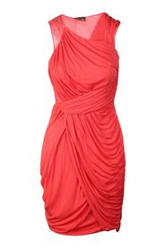 Pre-owned Coral Drape Dress
