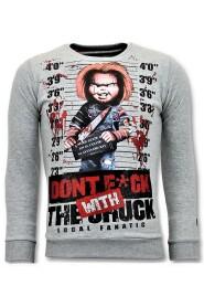 Genser Bloody Chucky Angry Skriv Ut