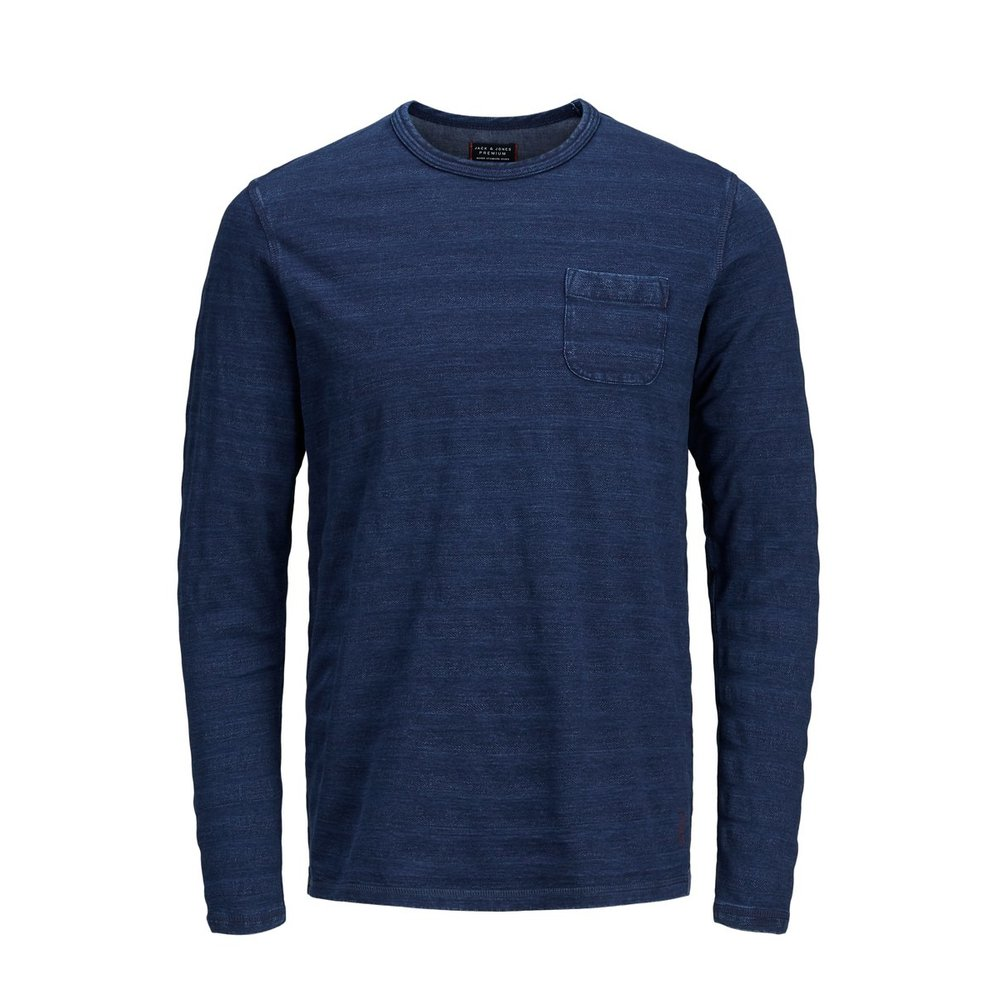 Long-Sleeved T-shirt Soft crew neck