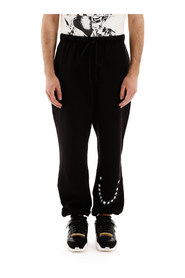 Stars embroidery sweatpants
