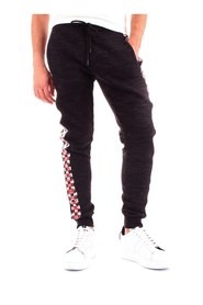 BIKKEMBERGS C109881M4150 Pants Men BLACK