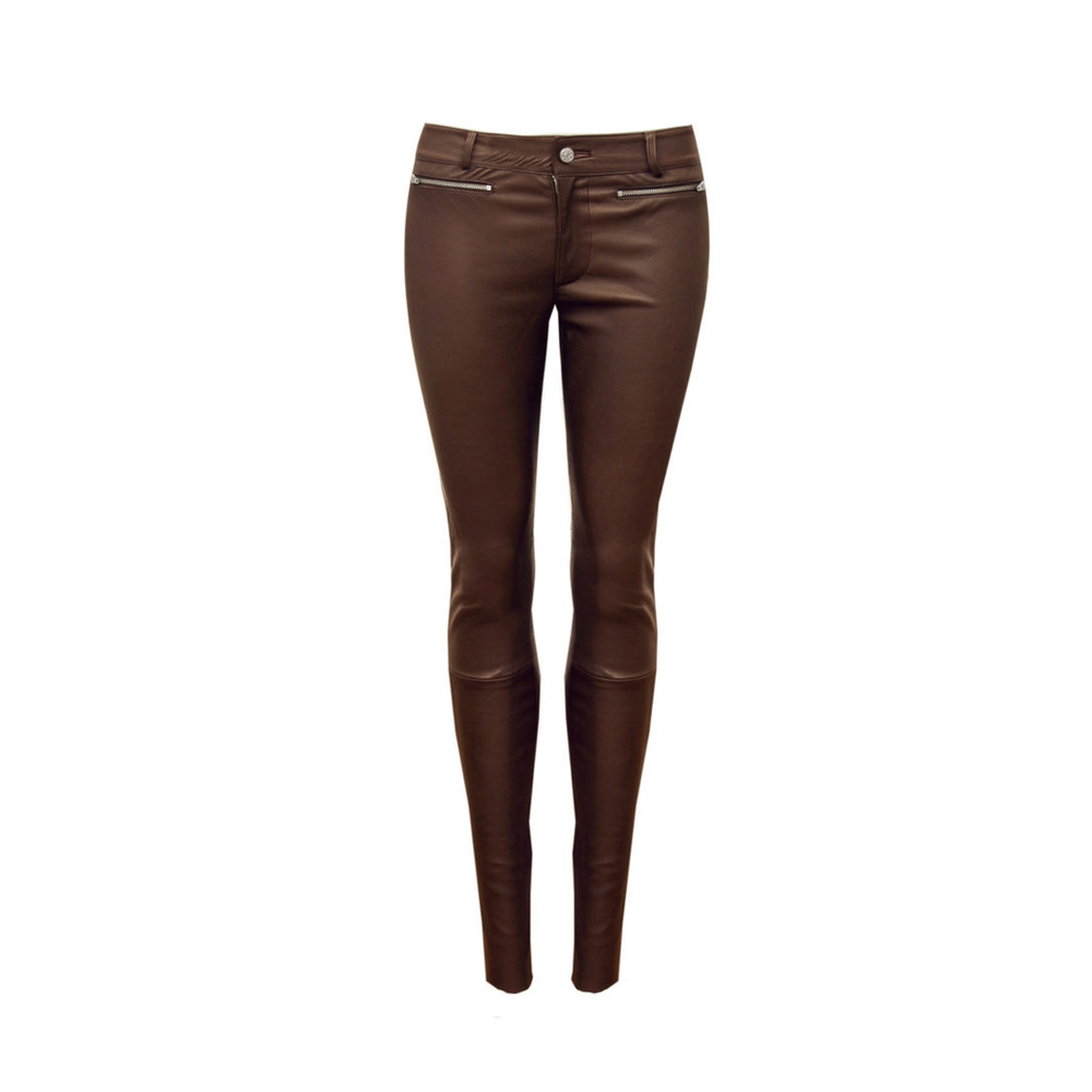 LEATHER TROUSERS STRECH