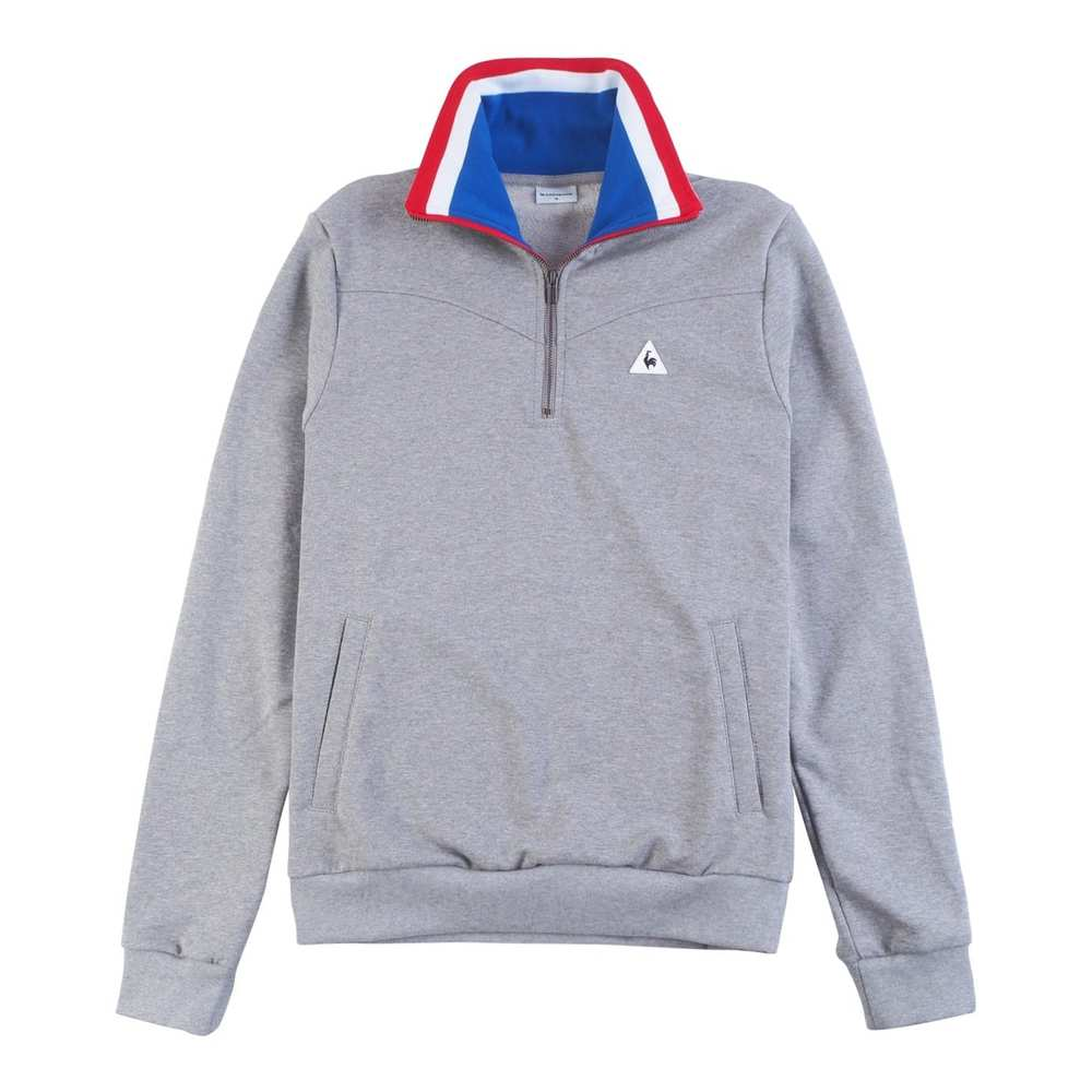 TRI LF 1/4 Zip Sweat M Light Heather Grey M