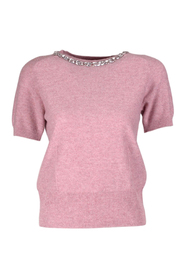 Pull broderie