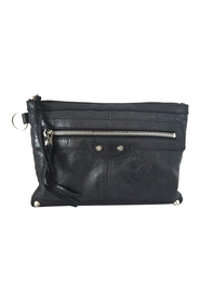 Pre-owned Motocross Classic Clip Leather Clutch Bag