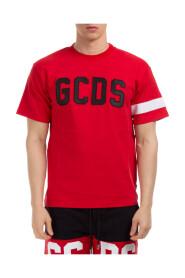 Kortermet T-Skjorte Rund Hals Genser Logo