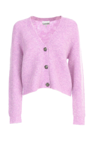 SOFT WOOL KNIT SWEATER WITH BUTTONS