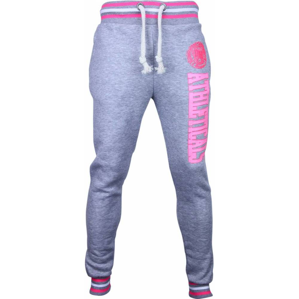 Casual Sweatpants - Slim Fit Atletik Træning Neon Print