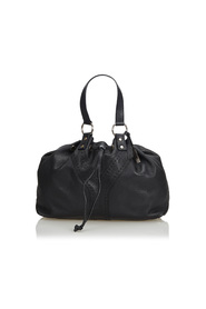 Leather Double Sac Tote