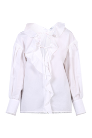 ruched blouse
