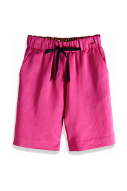 149971 longer length shorts in viscose-linen quality
