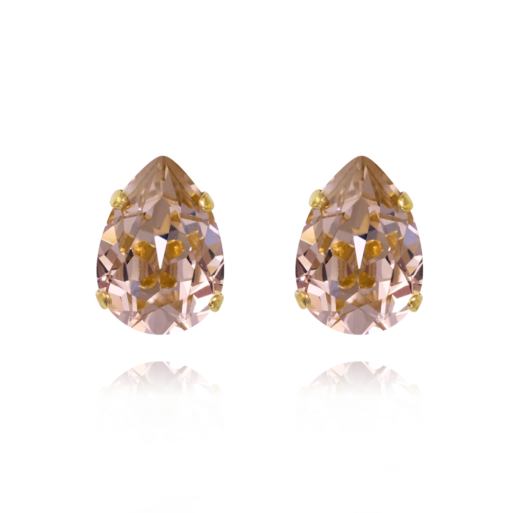 Caroline Svedbom Mini Drop Stud Earring - Vintage rose
