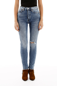 Ultra high rise jeans