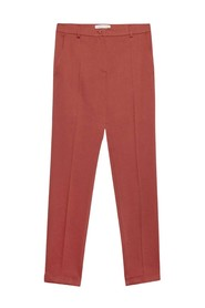 Straight Trousers With Turn-ups