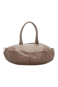 Intrecciato Leather Handbag