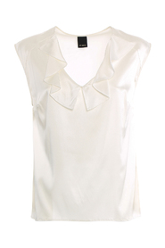 FASCINERANDE STRETCH SATIN TOPP
