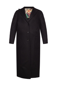 Coat with peak lapels